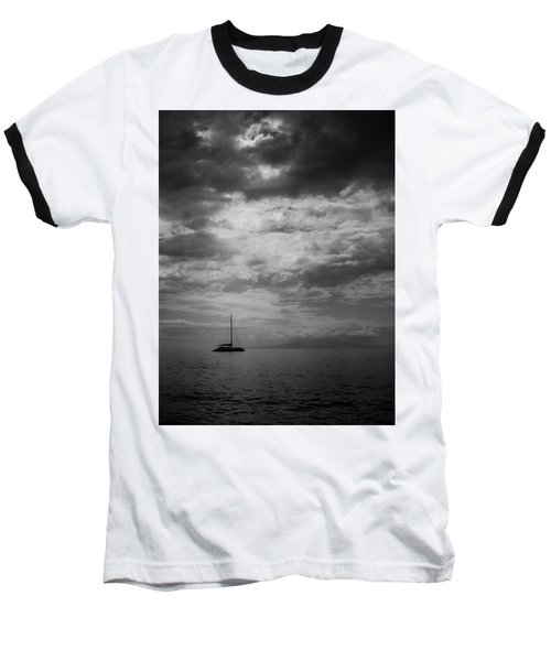 Baseball T-Shirt featuring the photograph Illumination by Chris McKenna
