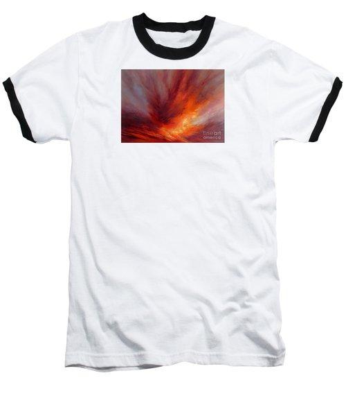 Illumination Baseball T-Shirt by Valerie Travers