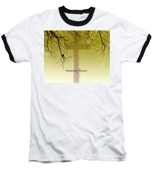Immanuel- My Saviour Baseball T-Shirt by Trilby Cole
