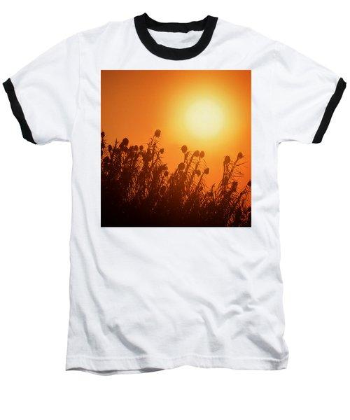 Impalila Island Sunset No. 3 Baseball T-Shirt by Joe Bonita