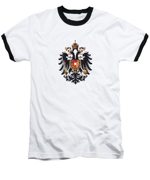 Imperial Coat Of Arms Of The Empire Of Austria-hungary 1815 Transparent Baseball T-Shirt