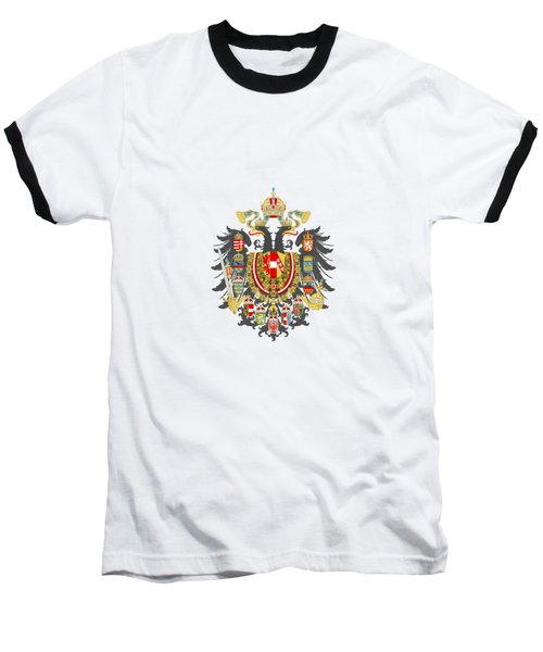 Imperial Coat Of Arms Of The Empire Of Austria-hungary Transparent Baseball T-Shirt