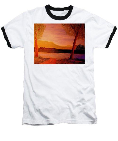 Impression Dawn Baseball T-Shirt by Bill OConnor