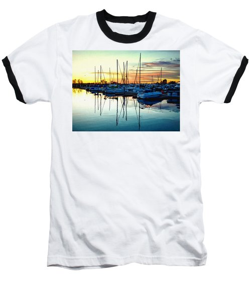 Impressions Of A San Diego Marina Baseball T-Shirt