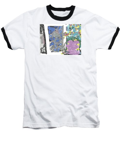 In Between Window And Flowers Baseball T-Shirt