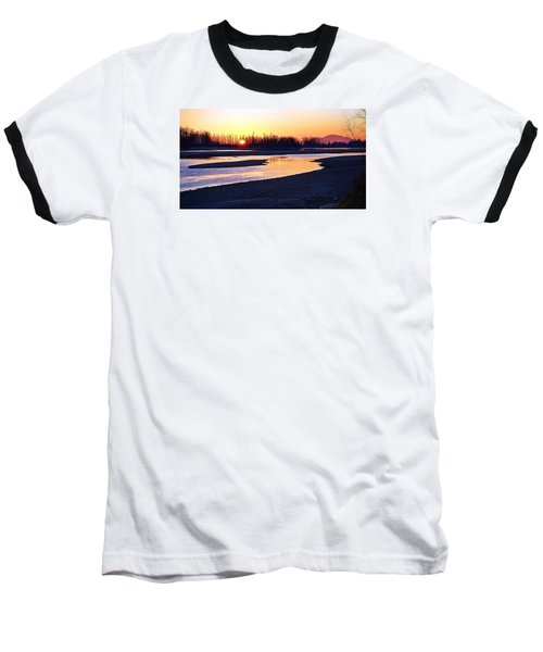 The Fraser River Baseball T-Shirt by Heather Vopni
