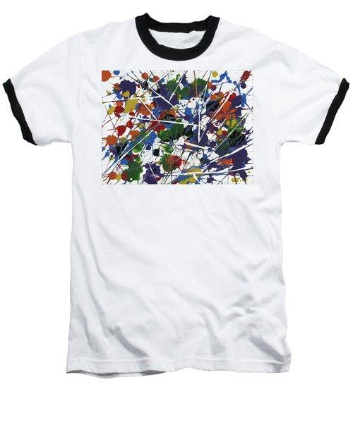 In Glittering Rainbow Shards Baseball T-Shirt