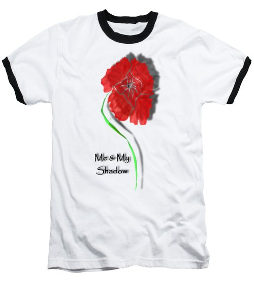 In Remembrance Poppy Baseball T-Shirt