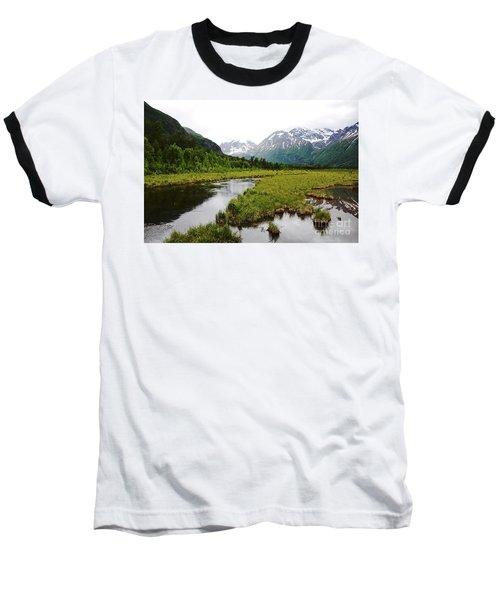 In Road To Denali Baseball T-Shirt