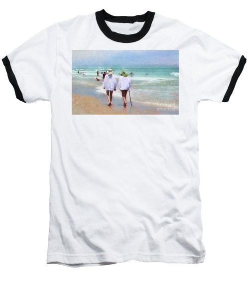 In Step With Life Baseball T-Shirt