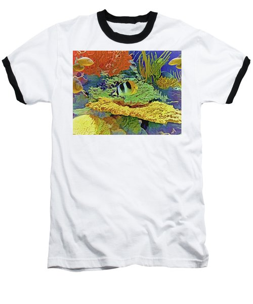 In The Coral Garden 10 Baseball T-Shirt