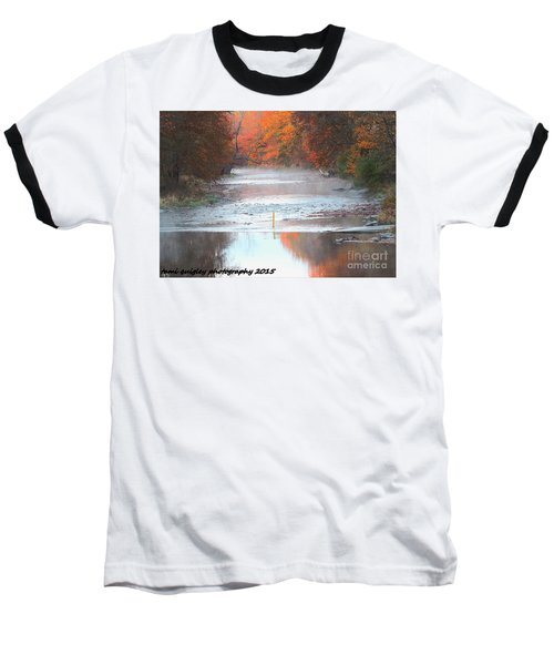 In The Early Morning Mist Baseball T-Shirt