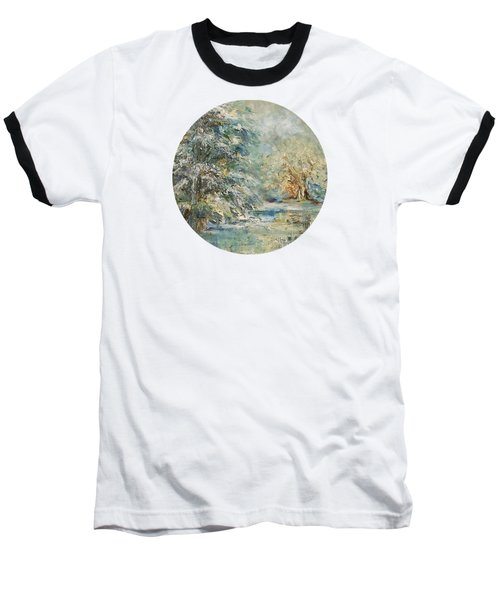 In The Snowy Silence Baseball T-Shirt