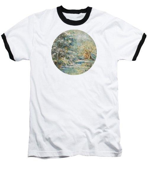 In The Snowy Silence Baseball T-Shirt