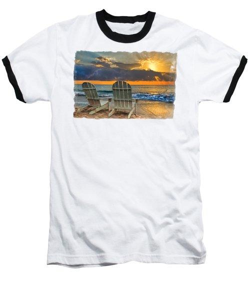In The Spotlight Bordered Baseball T-Shirt