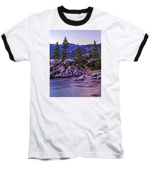In The Still Of Dusk Baseball T-Shirt