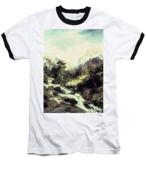 In The Teton Range Baseball T-Shirt