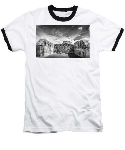 Inca Walls. Baseball T-Shirt
