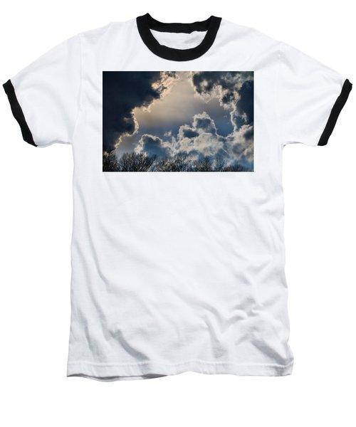 Incredible Clouds Baseball T-Shirt