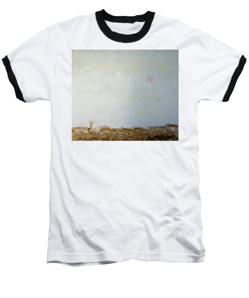 Baseball T-Shirt featuring the painting Incredible Lightness Of Being by Lenore Senior