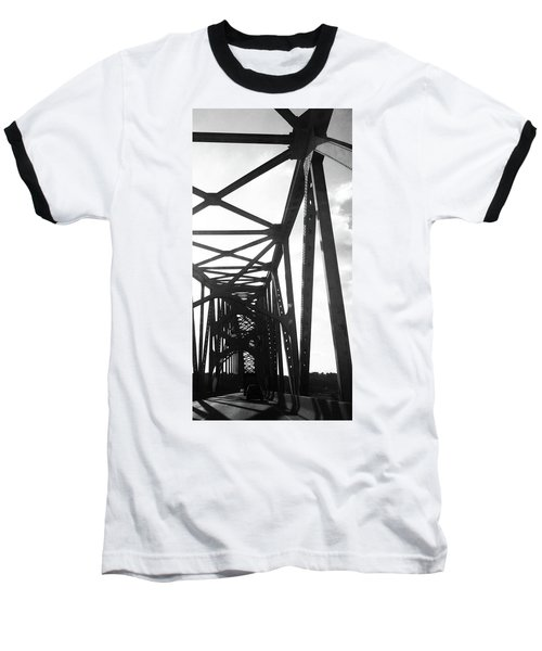 Baseball T-Shirt featuring the photograph Indefinite Sight Bw by Jamie Lynn