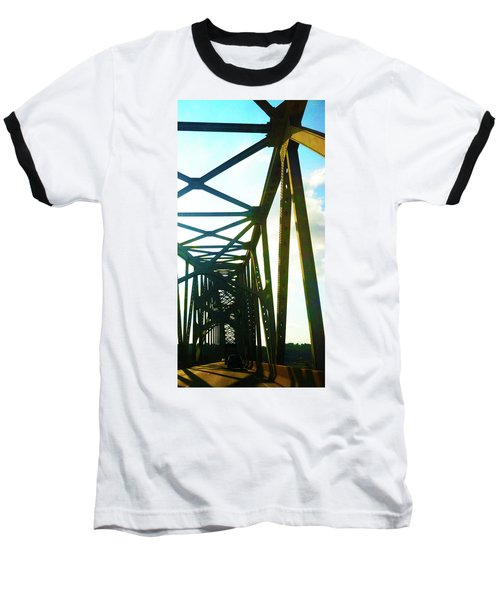 Baseball T-Shirt featuring the photograph Indefinite Sight by Jamie Lynn