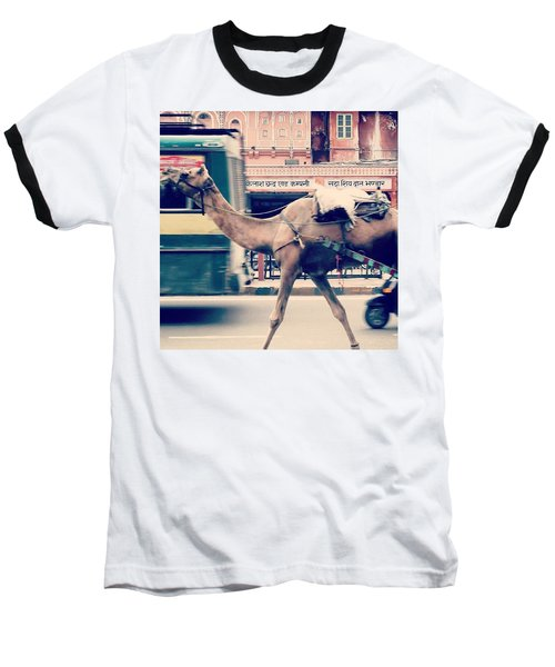 India - Where Even The Camels Overtake Baseball T-Shirt