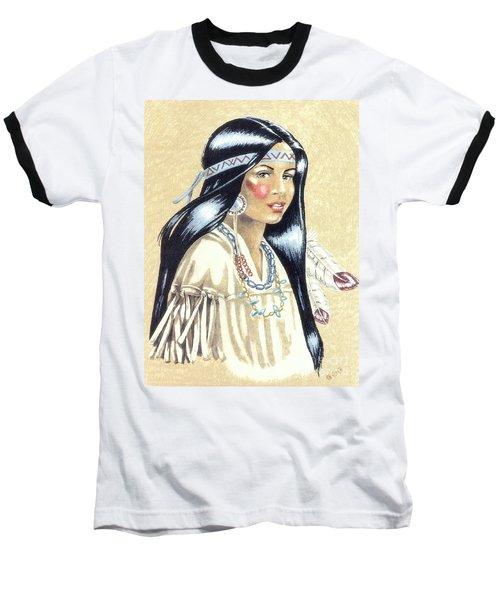 Indian Girl Baseball T-Shirt