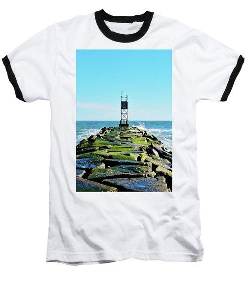 Indian River Inlet Baseball T-Shirt by William Bartholomew