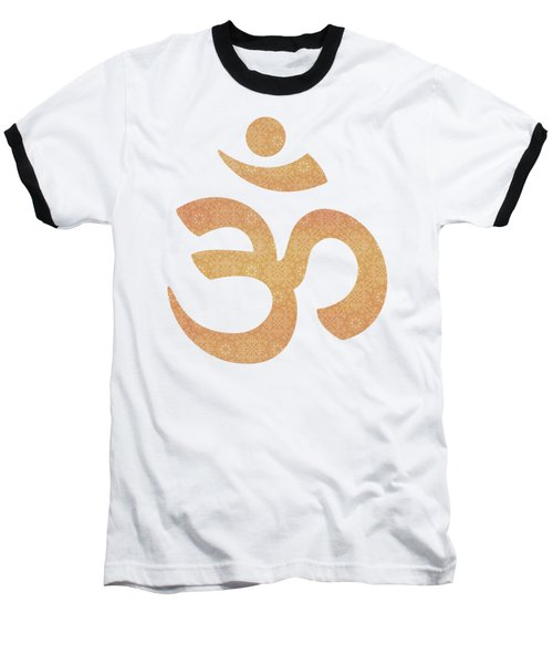 Indian Summer Mandala Copper Baseball T-Shirt