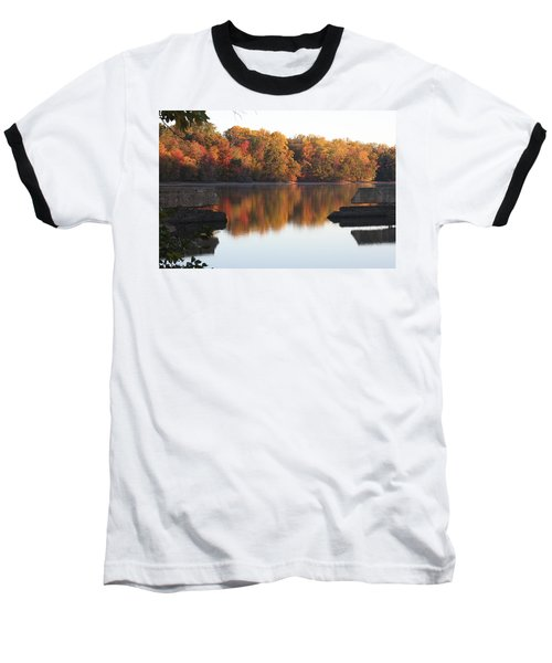 Baseball T-Shirt featuring the photograph Indian Summer by Vadim Levin