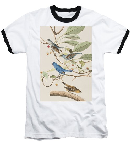 Indigo Bird Baseball T-Shirt