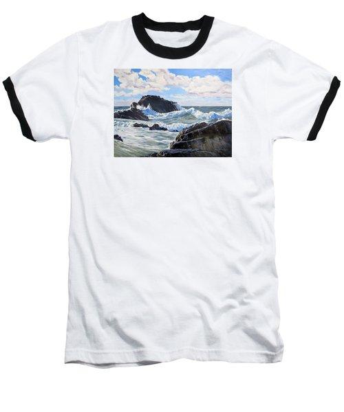 Indomitable Rock Baseball T-Shirt