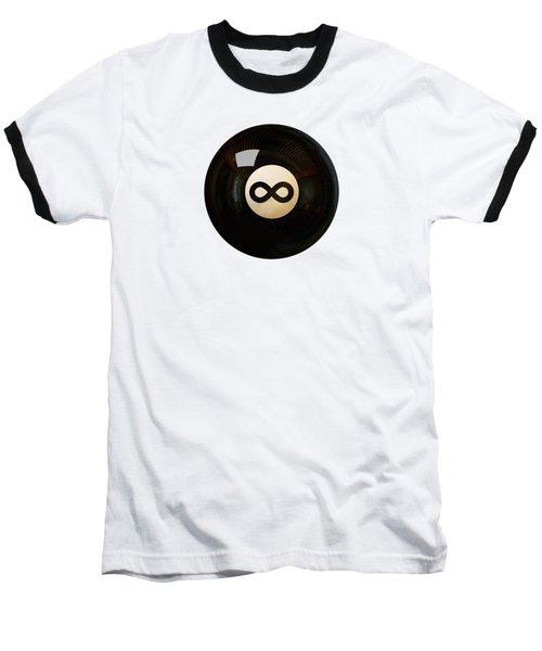 Infinity Ball Baseball T-Shirt by Nicholas Ely