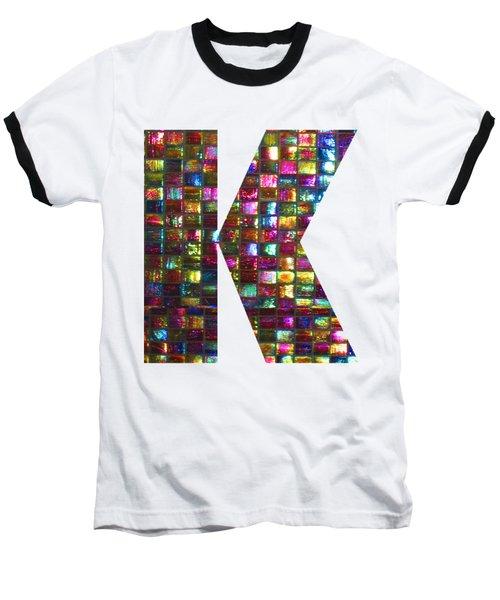 Initial Identity K Kk Kkk Alpha Alphabet Decorations Signature At By Navinjoshi From Canada At Fine Baseball T-Shirt