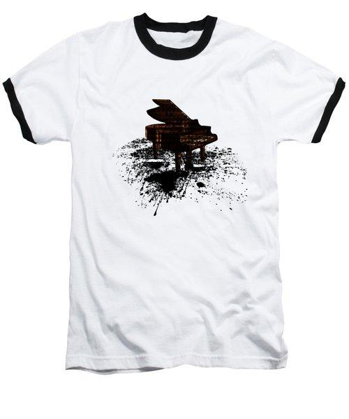 Inked Gold Piano Baseball T-Shirt