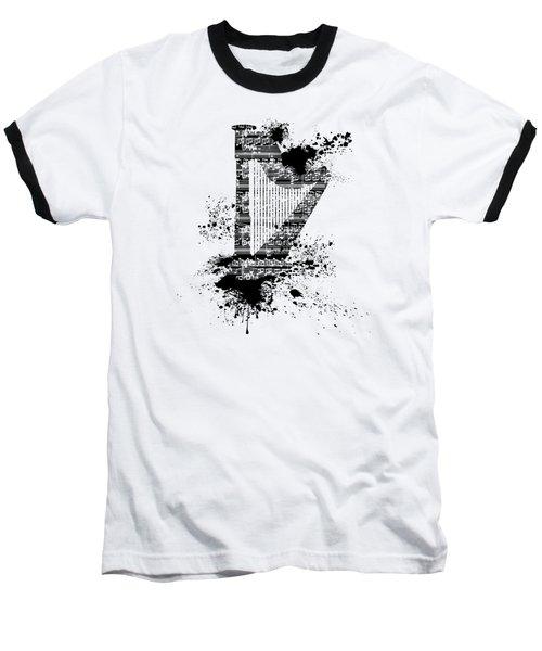 Inked Harp Baseball T-Shirt