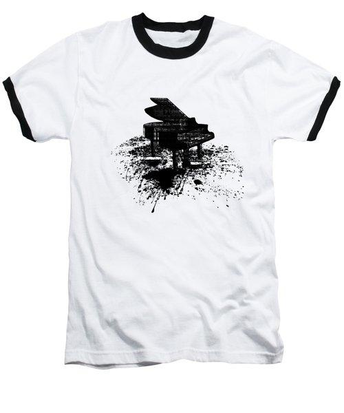 Inked Piano Baseball T-Shirt