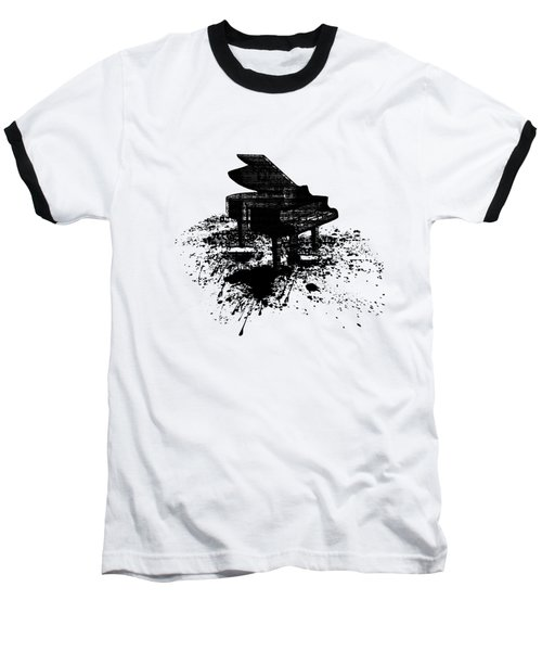Inked Piano Baseball T-Shirt