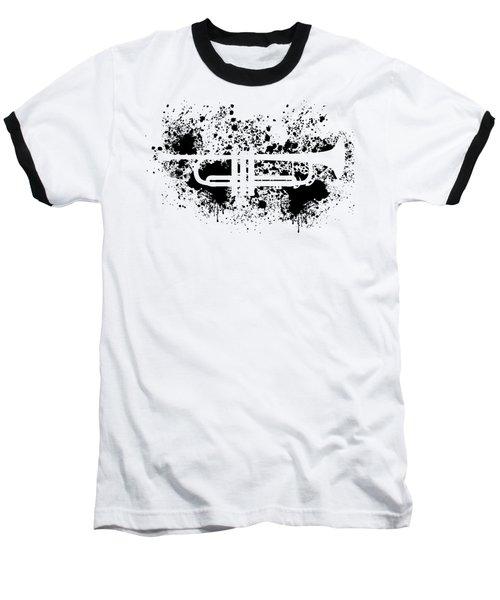 Inked Trumpet Baseball T-Shirt