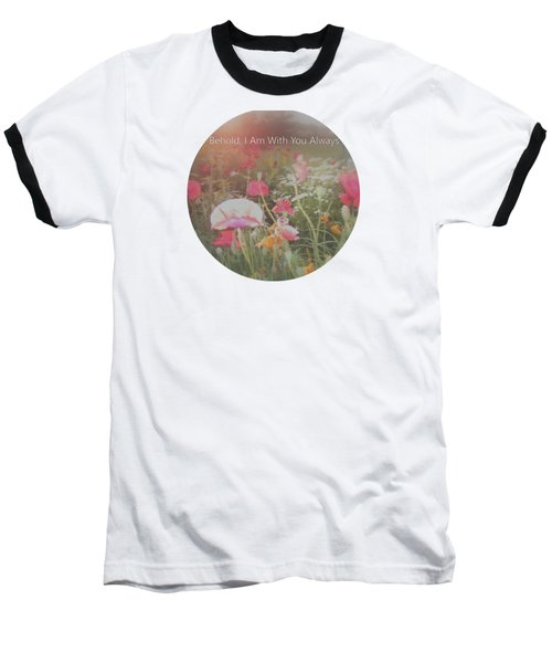 Inspirational Poppies In The Light Baseball T-Shirt