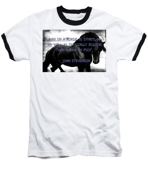 Inspirational Quote Baseball T-Shirt