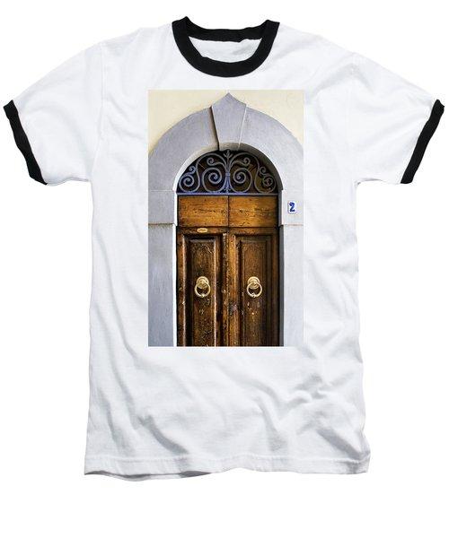 Interesting Door Baseball T-Shirt