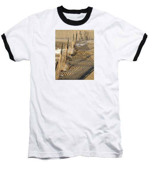 Intersection Baseball T-Shirt by Lynda Lehmann