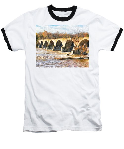 Interurban Bridge Baseball T-Shirt