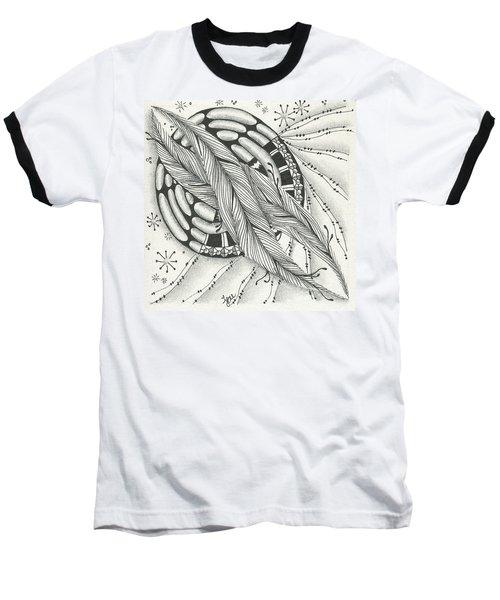 Into Orbit Baseball T-Shirt by Jan Steinle