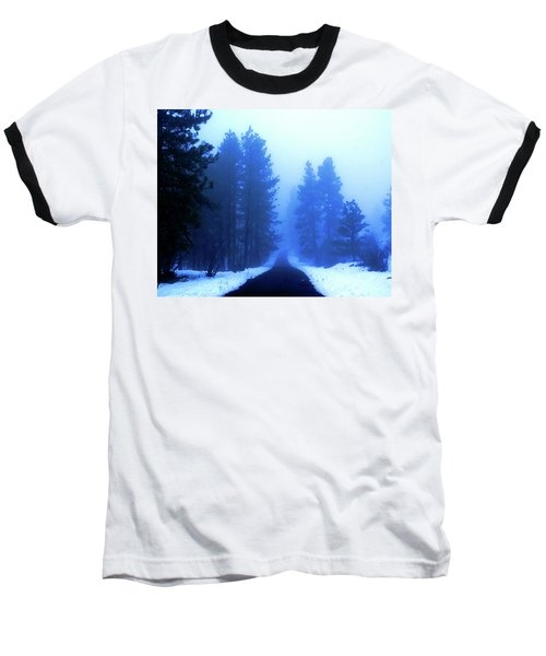 Into The Misty Unknown Baseball T-Shirt