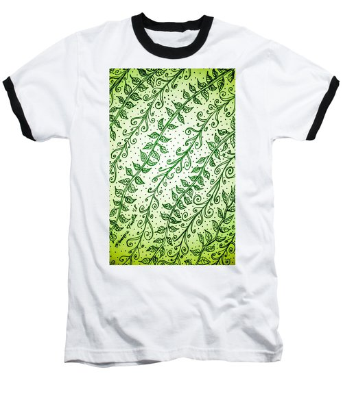 Into The Thick Of It, Green Baseball T-Shirt