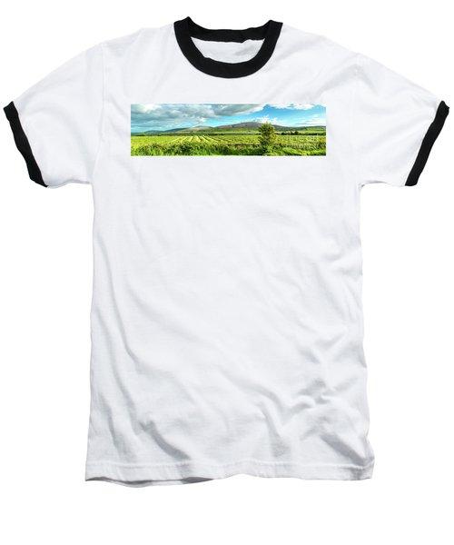 Ireland  - Burren Panorama Baseball T-Shirt