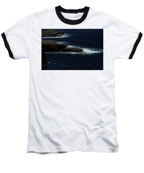 Ireland Inishmore Aran Island Coastal Landscape Baseball T-Shirt